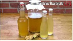 Ginger Water The Healthiest Drink To Burn All The Fat From The Waist, Back And Thighs