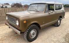 International Scout, International Harvester, Best Barns, Aluminum Radiator, Barn Finds, Trucks, Things To Sell, Truck, Cars