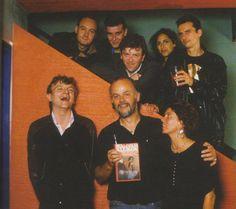 John Peel and his favourite band The Fall