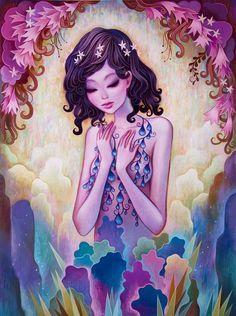Beautiful! Jeremiah Ketner's Day Dreaming at the Rotofugi Gallery