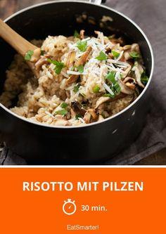 Risotto mit Pilzen - smarter - Zeit: 30 Min. | eatsmarter.de