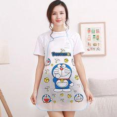1pc Waterproof PE Kawaii Jingle Cats Adult Women Lady'S Kitchen Cooking Pinafores Aprons Cartoon Novelty #clothing,#shoes,#jewelry,#women,#men,#hats,#watches,#belts,#fashion,#style