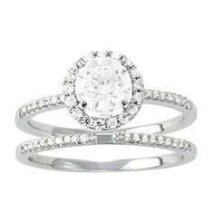 *My set, love the thin band...and I definitely want a band that slides under the rock and not around it...<3