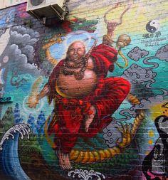Street Art in Central Auckland City Art, Chalk Art, Art Festival, Artists Like, Street Artists, Public Art, Auckland, Graffiti Art, Amazing Art