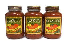 CLASSICO(クラシコ) パスタソース トマト&バジル 907g×3 購入時価格 868円(2013年)   こちらクラシコパスタソースで使われている瓶も実はメイソンジャーだったんですよ。 こちらはBALL社ではなく、アトラス社というヴィンテージ調のガラス瓶で有名な会社によるメイソンジャーでした。瓶の側面には「ATLAS」「MASON」とそれぞれエンボス加工でデザインされています。 BALLのメイソンジャーのように蓋が二重構造というわけではありませんし、コストコのクラシコは907g入りと大きいので、さすがにタンブラーとして使用する感じではありませんが、保存瓶としては全く問題なく使用することができます。
