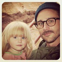 John Baldwin Gourley + daughter Frances