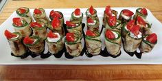 The Chopping Blog: This easy appetizer makes the most of summer produce: zucchini, tomatoes and basil. Get The Chopping Block's recipe.