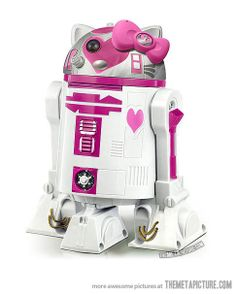 What happens when you mix Hello Kitty and R2-D2…