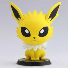 Pokemon 2013 Banpresto UFO Game Catcher Prize Jolteon Chibi Kyun Chara Figure