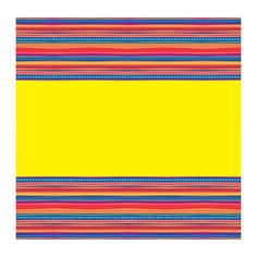 Serape Fiesta Plastic Tablecloth, 84 x 54 in, Multicolor Plastic Table Covers, Plastic Tablecloth, Plastic Tables, Mexican Fiesta Party, Taco Party, Striped Wallpaper, Kid Table, Clean Up, Party Supplies