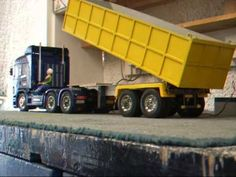 Tamiya Truck Tipper Trailer