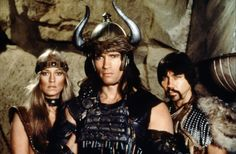 Arnold Schwarzenegger is 65 years old and Conan the Barbarian came out about 31 years ago. Description from flixist.com. I searched for this on bing.com/images