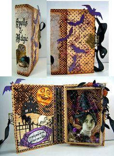 spell book box: artfully musing