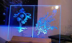 Svietiaci motív s rgb. Neon Signs, Home Decor, Homemade Home Decor, Decoration Home, Interior Decorating