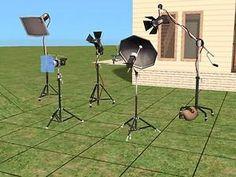 Maxis Studio Lamps