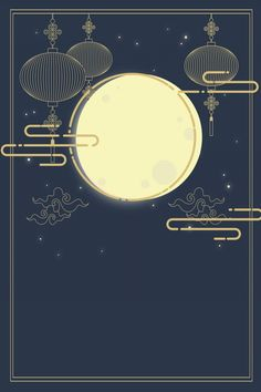 Mid Autumn Festival Hand Painted Moon Cloud in 2020 Feliz Diwali, Krishna Janmashtami, Eid Al Adha, Chinese Background, Background Images, Happy Mid Autumn Festival, Chinese New Year Design, Festival Background, New Year Designs