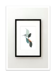 DRIFT no.20 - Mid Century Modern Design Art Print by Thedor on Etsy