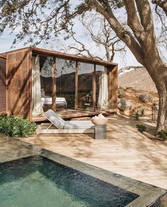 [New] The 10 Best Home Decor (with Pictures) - This is Hotel Bruma Casa 8 - a hotel & winery hybrid in Mexico. The desert chic hotel blends the best of traditional and contemporary Mexican design. The property ( is designed by Photos by & - Exterior Design, Interior And Exterior, Cafe Exterior, French Exterior, Tiny House Exterior, Cottage Exterior, Outdoor Spaces, Outdoor Living, Casas Containers