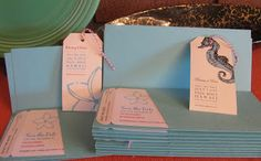 DIY: Destination wedding save the dates, luggage tag magnets, boarding passes from TikiLife