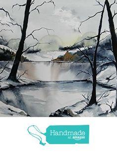 ORIGINAL painting watercolor painting WATERCOLOR Painting,watercolor landscape, Pinetreeart, WATERCOLOR, landscape original, painting from Maine ARTist https://www.amazon.com/dp/B01GSE9W46/ref=hnd_sw_r_pi_dp_3pfwxbFH3GNE5 #handmadeatamazon