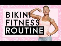 Bikinifigur | Meine Fitnessroutine | Frühstückskuchen Tipps | Sophia Thiel - YouTube