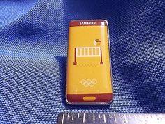 2016 Rio Olympic Sponsor Pin Samsung Volleyball