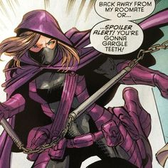 Spoiler: Stephanie Brown knows how to make a heck of an entrance. From BATMAN AND ROBIN ETERNAL #2. by dccomics