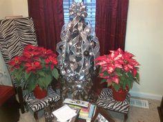 My black Christmas tree...