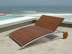 deck chair.