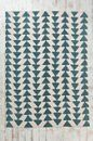 """Magical Thinking Arrowhead Rug: Use similar textiles/colors, patterns.  Pick up some old indian blankets to throw down on the """"floor"""" of the teepee"""