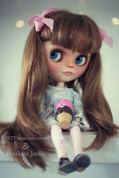 A Doll A Day. Jun 29. Sunday Ice Cream. by Forty Winks Doll Studio, via Flickr