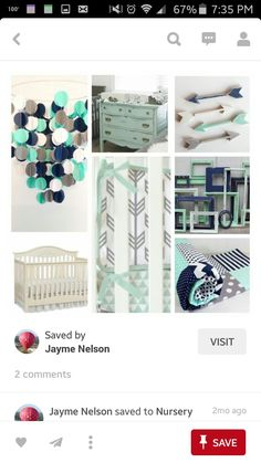 Everything about this describes how I want his nursery. Just missing some forest animals!