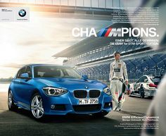 Marco Wittmann, DTM Champion 2014Client: BMW AGAgency: Heye Grid, MunichArt Buying: Ulli SaftigArt Direction: Michael LuxCreative Direction: Christoph ObermeierPhotography & Postproduction: Agnieszka Doroszewiczrepresented by: Severin:Wendeler