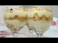 Magnolia Tarifi | Hafif Sütlü Tatlı | Elmalı Magnolia Tarifi - YouTube