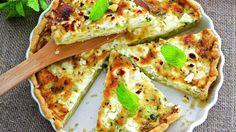 Тарт с кабачками, пошаговый рецепт с фото