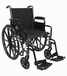 Karman Healthcare LT-700T 18 Height Adujustable Seat 36 lbs. Lightweight Steel Wheelchair  sc 1 st  Pinterest : reclining transport chair - islam-shia.org
