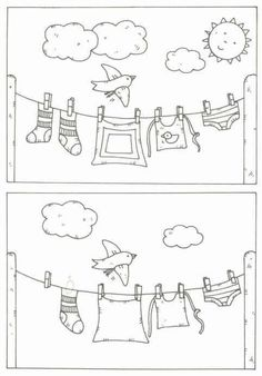 Find 5 missing things about this picture. Preschool Learning, Kindergarten Worksheets, Preschool Crafts, Learning Activities, Preschool Activities, Hidden Pictures, Pre School, Find 5, Sight Word Activities