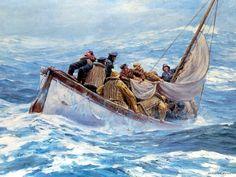 Lifeboat - Anton Otto Fischer