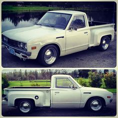Step-side 620: 1979 Datsun 620 pickup bidding around $2,000