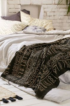Authentic Mudcloth Textile - Urban Outfitters
