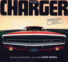 1970 Dodge Charger advertisement    #1970 #dodge #charger #ad #advertisement #advert #muscle #musclecar #detroit #hemi