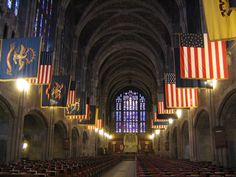 Inside West Point Chapel