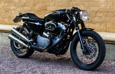 Harley Davidson Nightster Custom Cafe Racer by Rewheeled Motorcycles