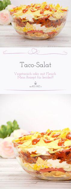 Zum Grillfest brauchst du einen Salat? Wie wäre es mit einem fein-würzigem Taco-Salat? Hier findest du ein leicht nachzumachendes Rezept: Taco-Salat