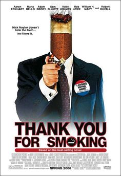 Gracias por fumar.