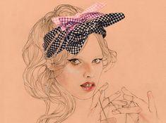 Kate Moss by Cedric Rivran