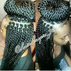 61 New Ideas For Crochet Braids Long Straight Senegalese Twists Senegalese Twist Hairstyles, Braided Hairstyles, Senegalese Twists, Protective Hairstyles, Protective Styles, Creative Hairstyles, Cute Hairstyles, Braid Game, Twist Box Braids