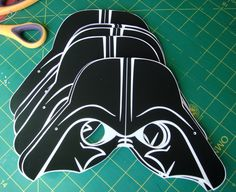 STAR WARS PARTY Printable Mask Collection.