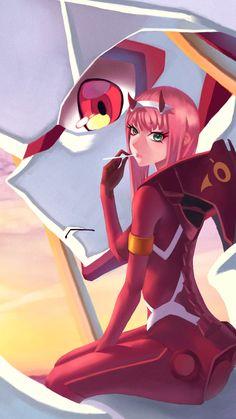 Amazing zero two art-darling in the franxx Anime Art Girl, Manga Art, Manga Anime, Querida No Franxx, Chibi, Persona Anime, Photo Manga, Waifu Material, Estilo Anime