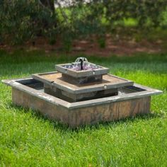 Solar Powered Garden Fountains